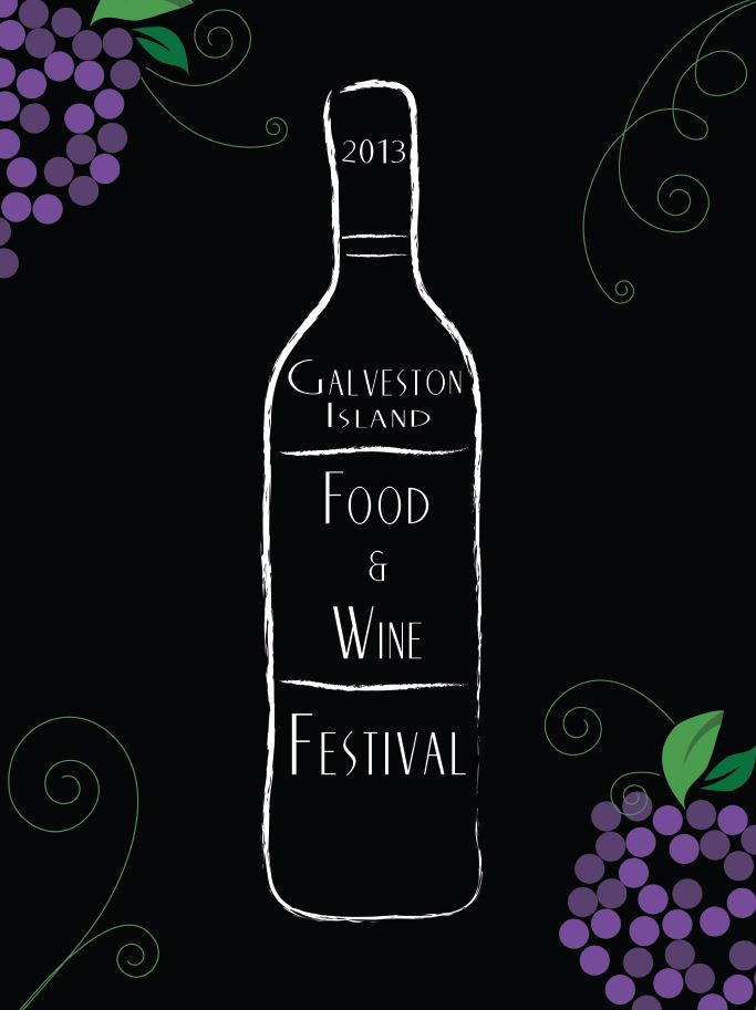 2013 Galveston Food Wine Festival Poster Contest