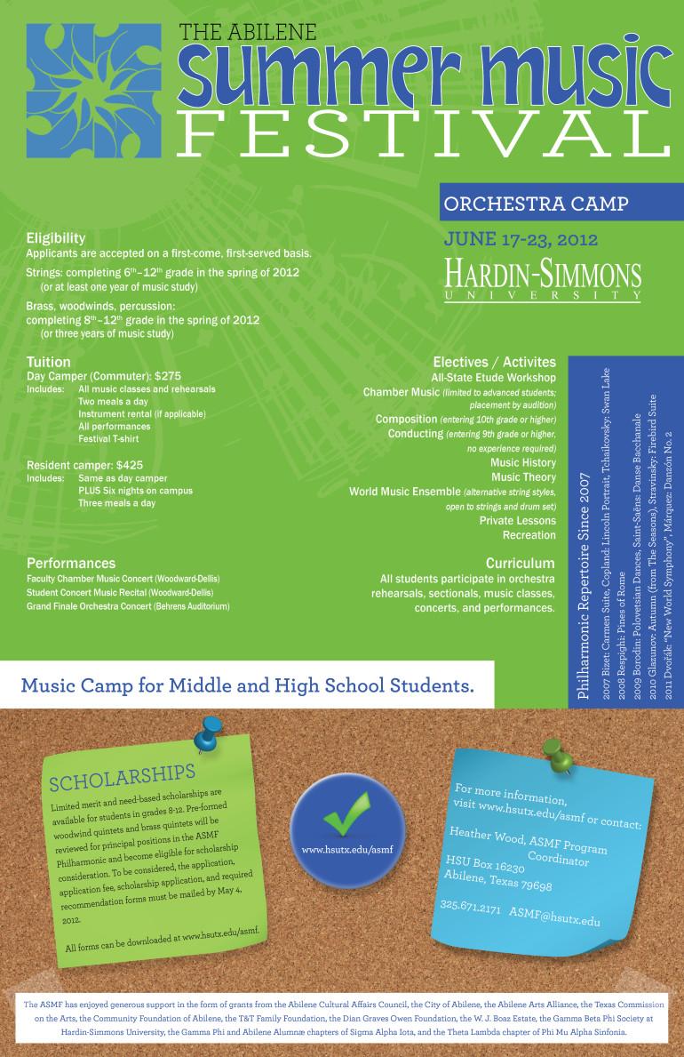 ASMF brochure - Back